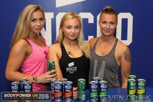 NOCCO Girls with Mathilda on Right