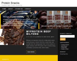 Protein Snacks Screen Shot
