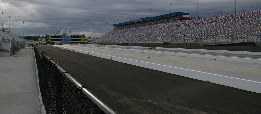 Lowes Motor Speedway Quater Mile Marker