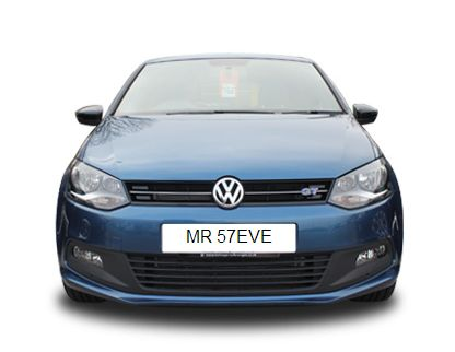 MR57 EVE Number Plate