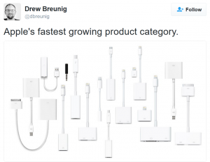Apple iDongle List