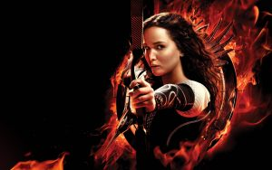 "Jennifer ""Katniss"" Lawrence Hunger Games Archer"