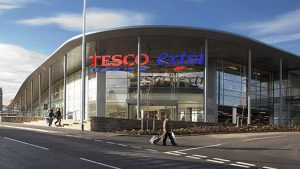 Tesco Store in UK
