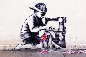 Banksy Missing Slave