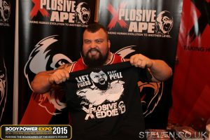 Eddie Hall at Body Power 2015