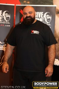Laurence Shahlaei at Body Power