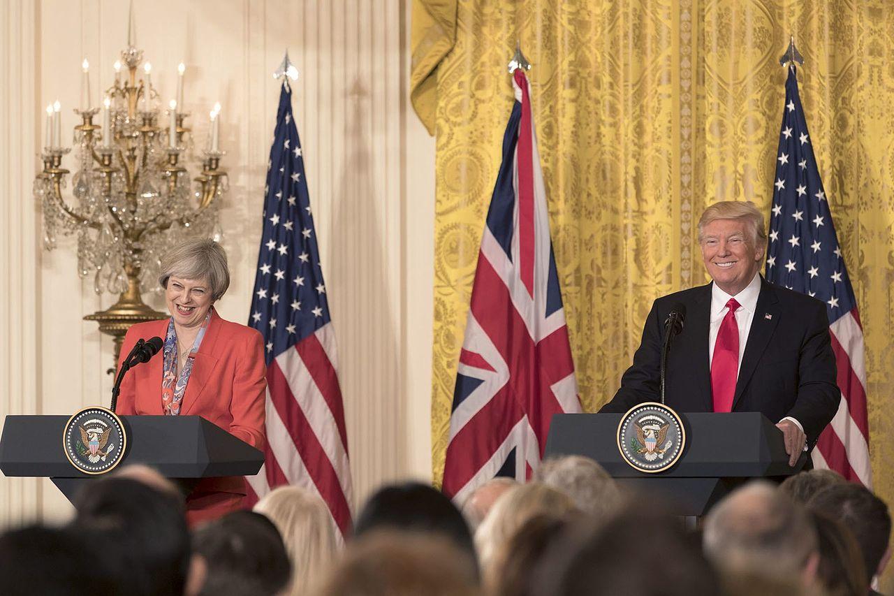 Theresa May Visiting USA