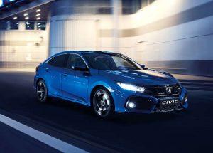 Honda Civic mk10 Blue