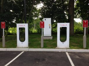 Tesla Supercharger Stations