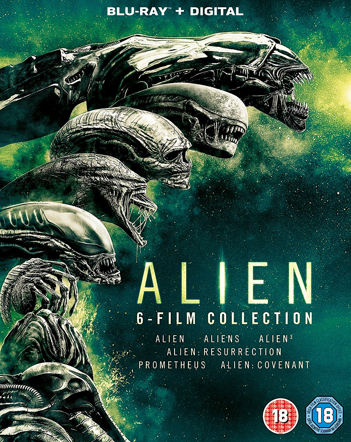 Alien 1-6 Boxset Amazon