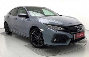 Cosmic Grey Civic Sport Plus