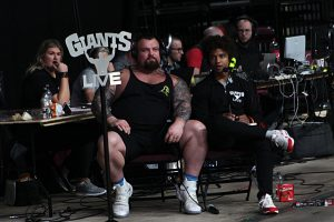 Eddie Hall Hosting