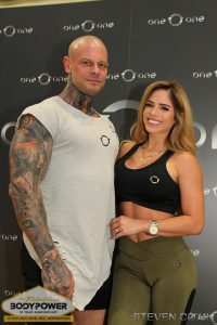 Michelle Lewin and Jimmy Lewin at Body Power