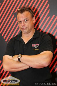 Colin Bryce at Body Power